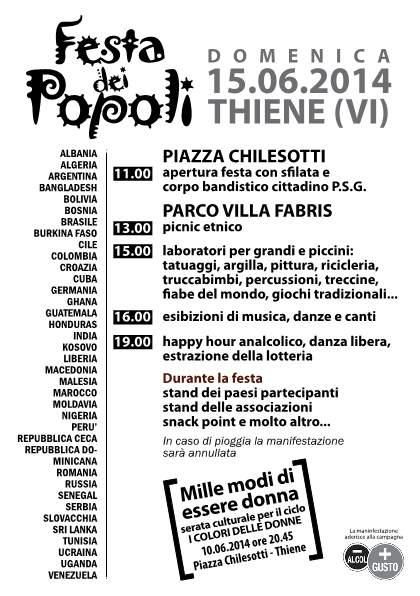 Festa dei popoli 2014