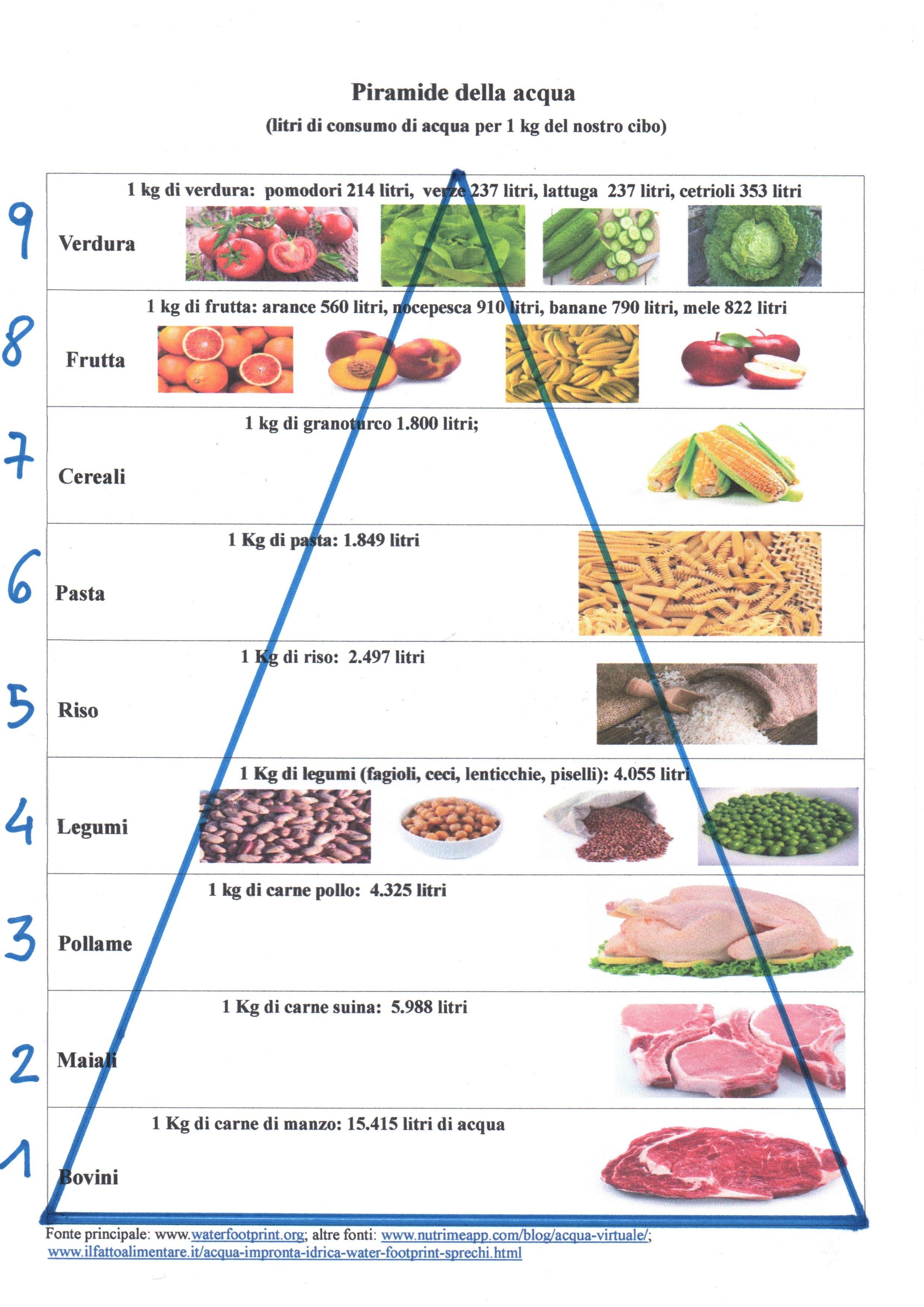 Piramide dell'acqua (cibo) definitivo immagine jpeg