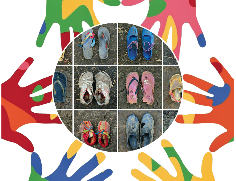 Mani e scarpe Decalogo