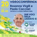 Locandina videoconferenza Laudato si' 20 maggio